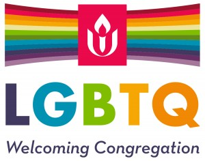 Logo for Unitarian Universalist LGBTQ Welcoming Congregation
