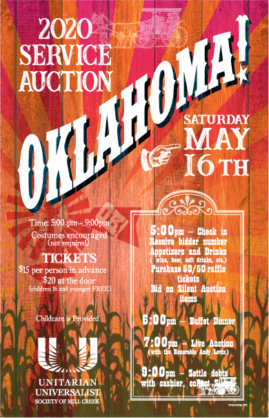 Service Auction Flyer May 16