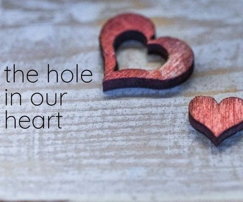 The Hole in Out Heart Sermon